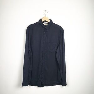 Classic Long Sleeve Button Down Collared Shirt